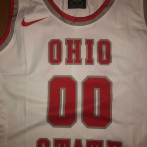Nike Tops - 2pc Nike woman jersey/ shorts MED Playmaker Ohio